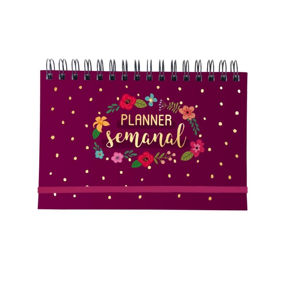 Planner Semanal CARTÕES GIGANTES Espiral 21x15