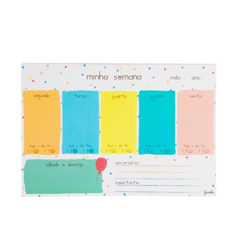 Planner Semanal FRICOTE