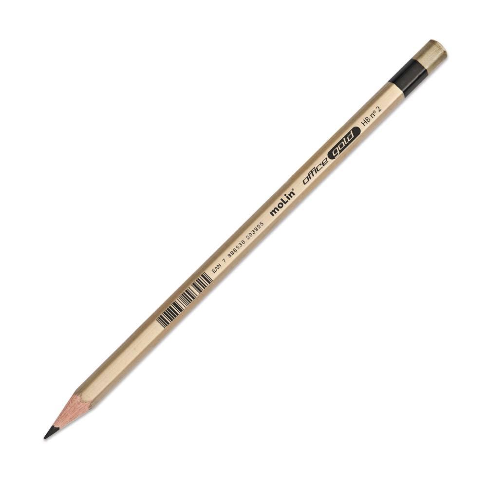 Pote Lápis Preto HB N°2 MOLIN Office c/ 48 Unds
