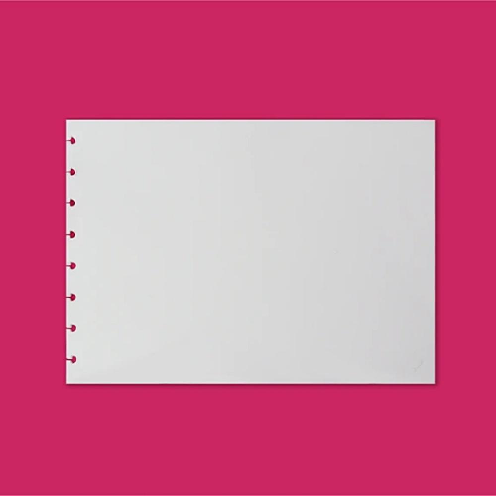 Refil de Folhas Art do CADERNO INTELIGENTE Sketchbook A4