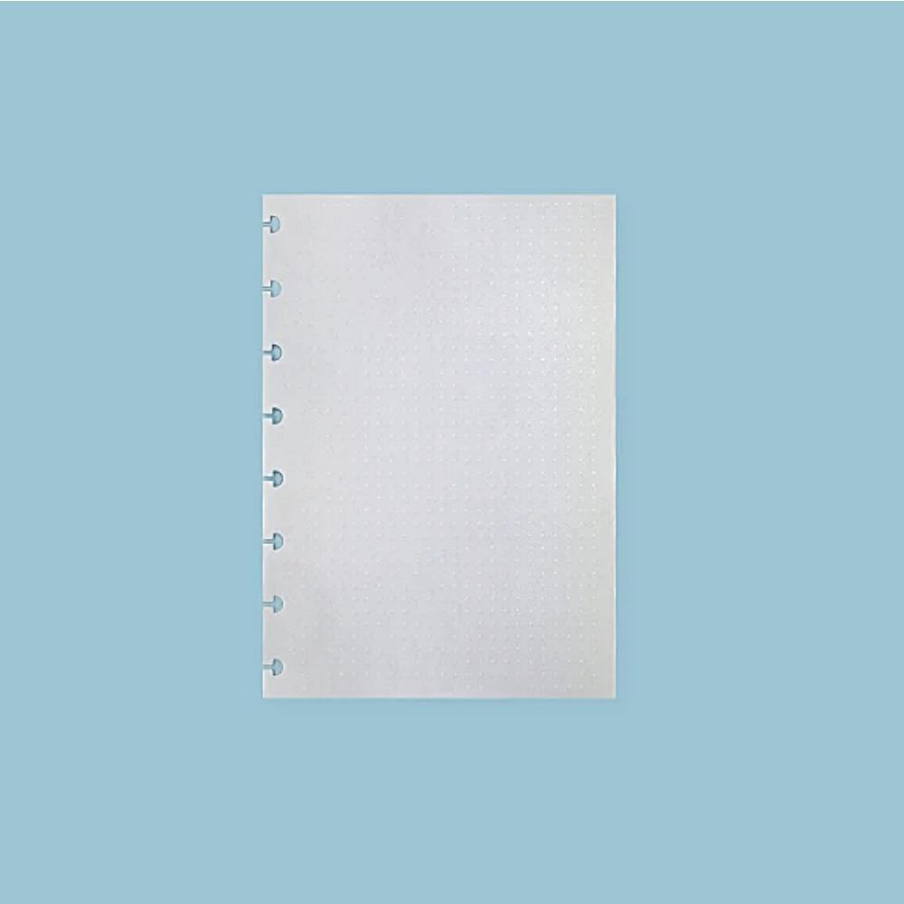 Refil de folhas do CADERNO INTELIGENTE Linhas Brancas 90g/M2