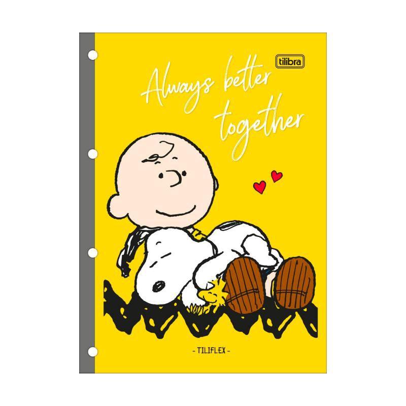 Refil Pautado Snoopy TILIBRA P/ Fichário