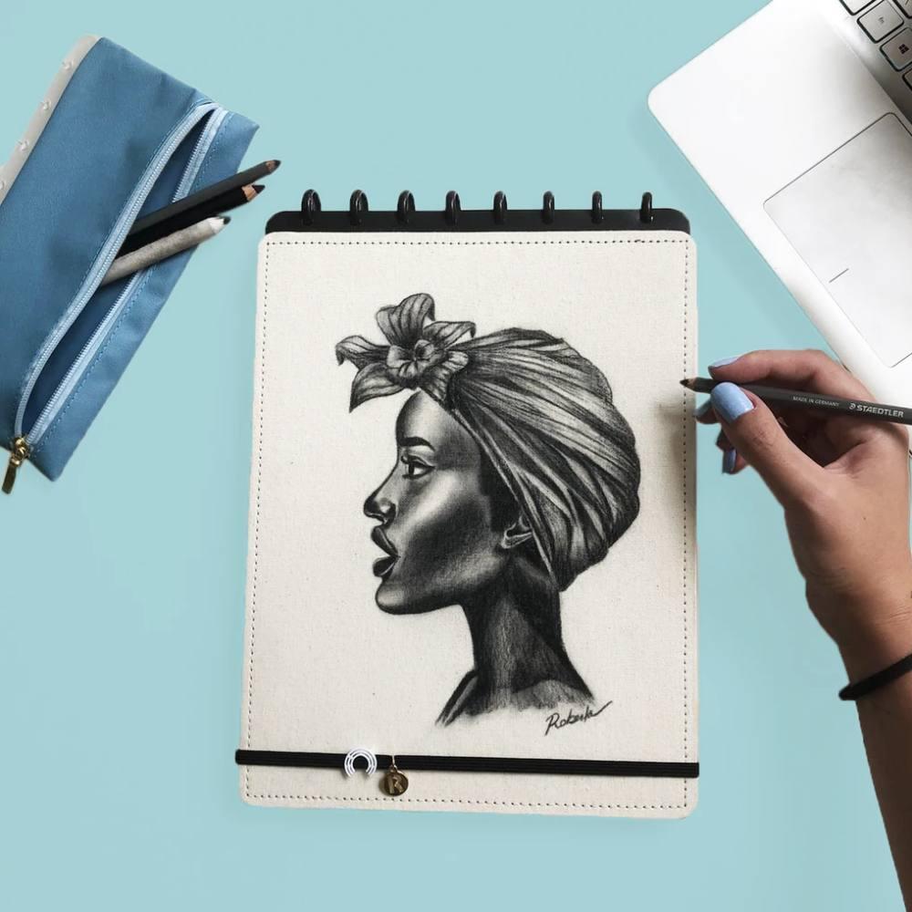 Sketchbook CADERNO INTELIGENTE Canvas