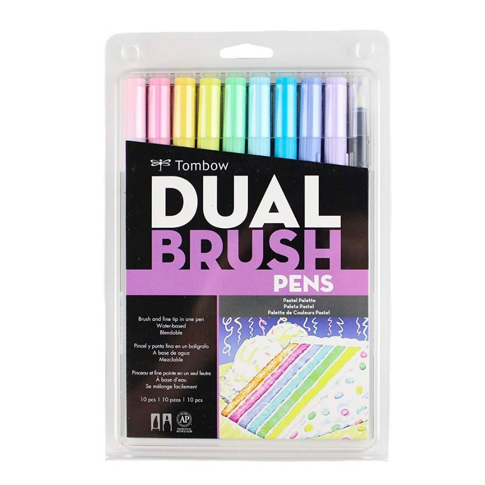 TOMBOW Dual Brush c/ 10 Unds