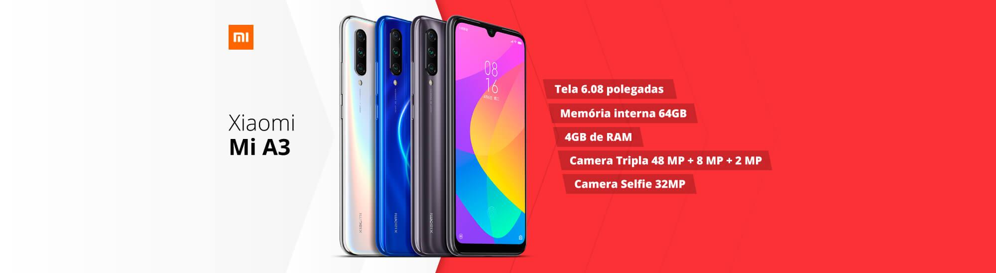Xiaomi Mi A3: Conheça!