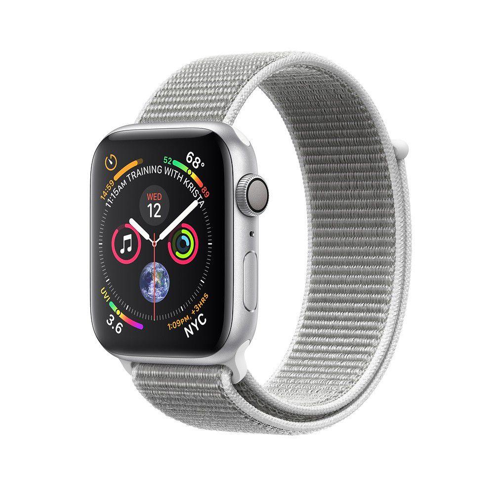 Apple Watch Série 4 - 40mm pulseira esportiva Loop  Cinza