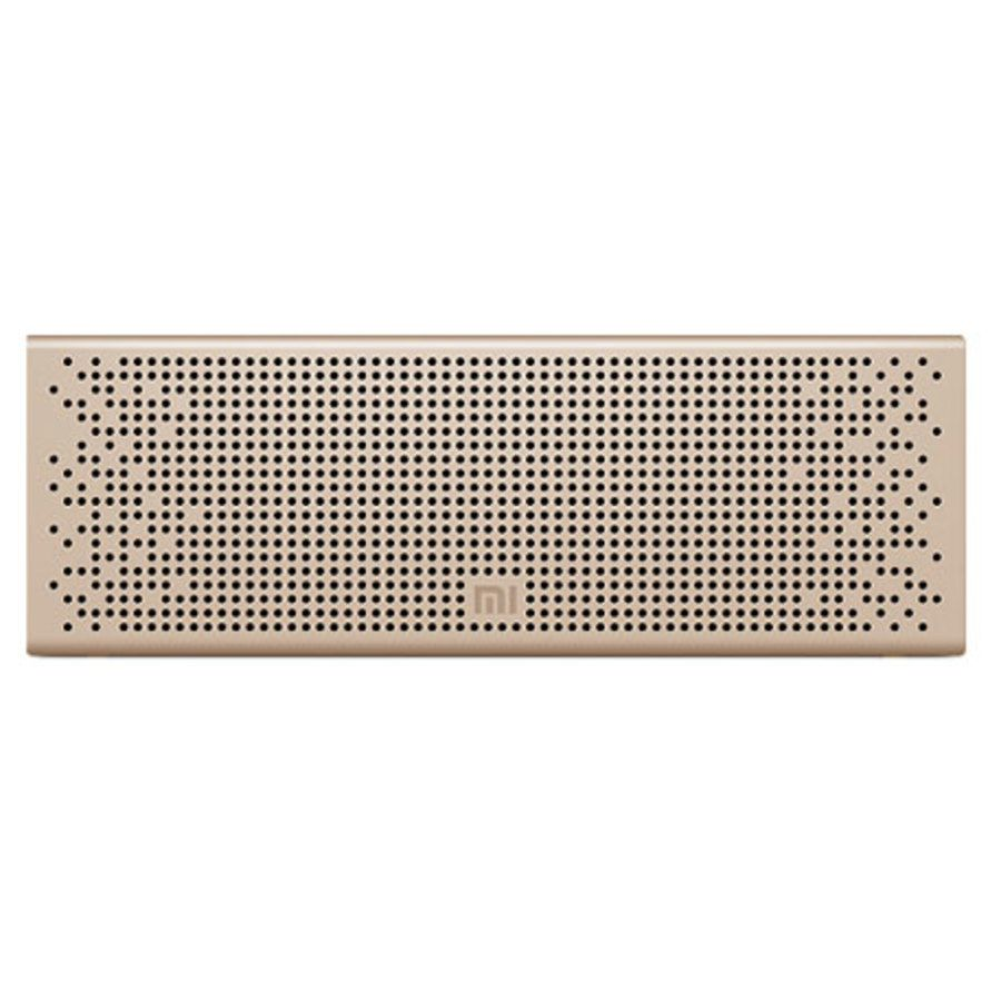 Caixa de Som Bluetooth MI Speaker Portatil Dourado