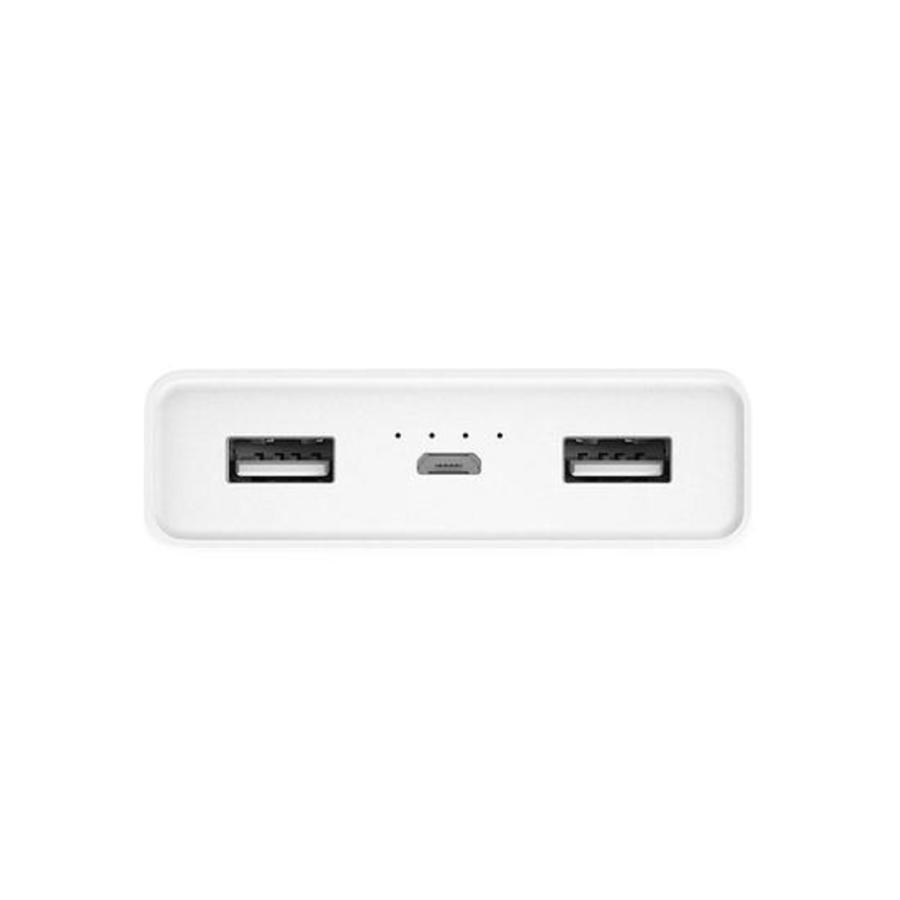 Carregador Portatil Powerbank Xiaomi MI 20000mah - Branco  - PAGDEPOIS