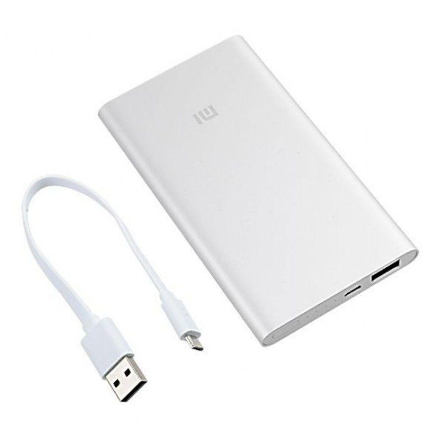 Carregador Portatil Powerbank Xiaomi MI 5000mah - Prata