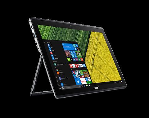Netbook tablet Acer SA5-271-56tk I5 2.3ghz 8GB 256 SSD tela 12 windows 10 - Cinza  - PAGDEPOIS