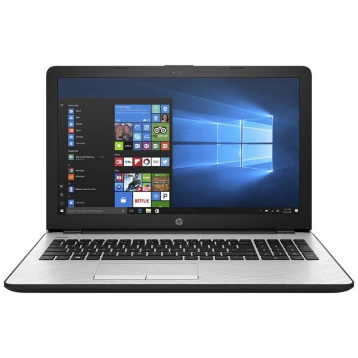 Notebook HP 15-BS031WM I3 2.4ghz 4GB 1TB tela 15.6 windows 10 - Prata