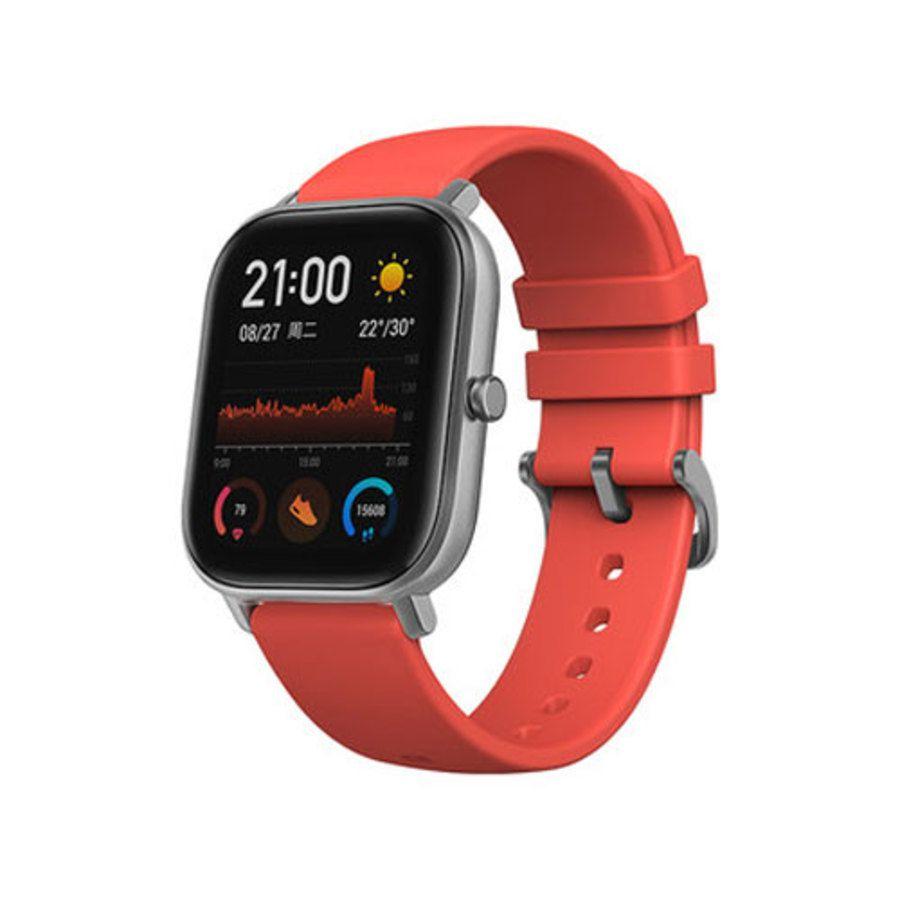 Relogio Smartwatch Xiaomi Amazfit GTS A1914 - Vermelho  - PAGDEPOIS