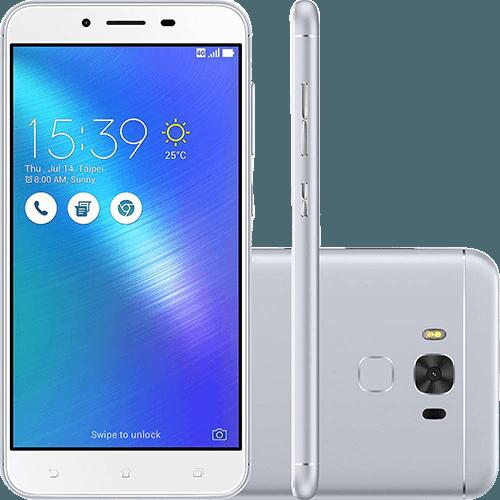 Smartphone Asus Zenfone 3 Max ZC553KL 3GB Ram Tela 5.5 32GB Camera 16MP - Prata