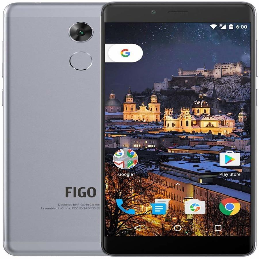 Smartphone Figo Gravity X55L 3GB Ram Tela 5.0 32GB Camera 13MP - Cinza  - PAGDEPOIS