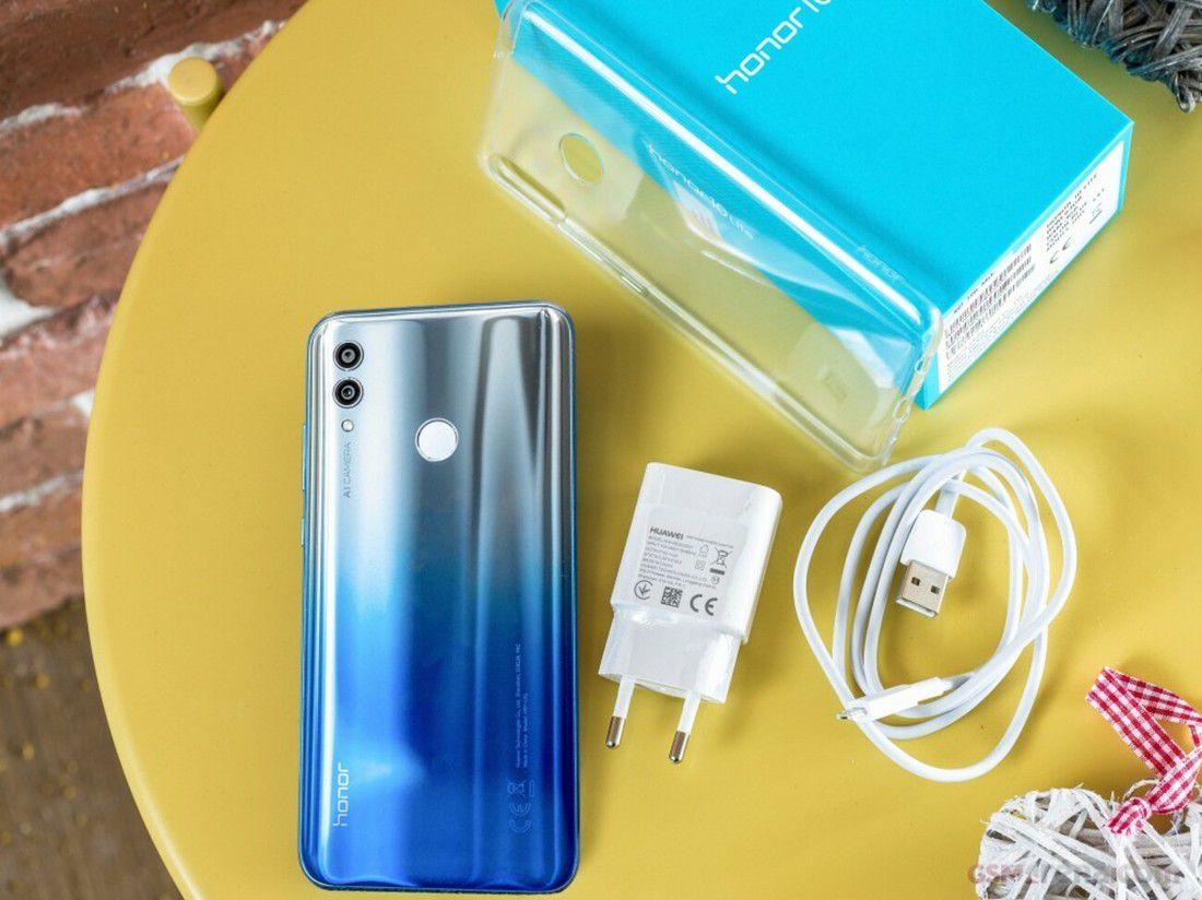 Smartphone Honor 10 lite 3GB Ram Tela 6.21 32GB Camera Dupla 13+2MP - Preto  - PAGDEPOIS