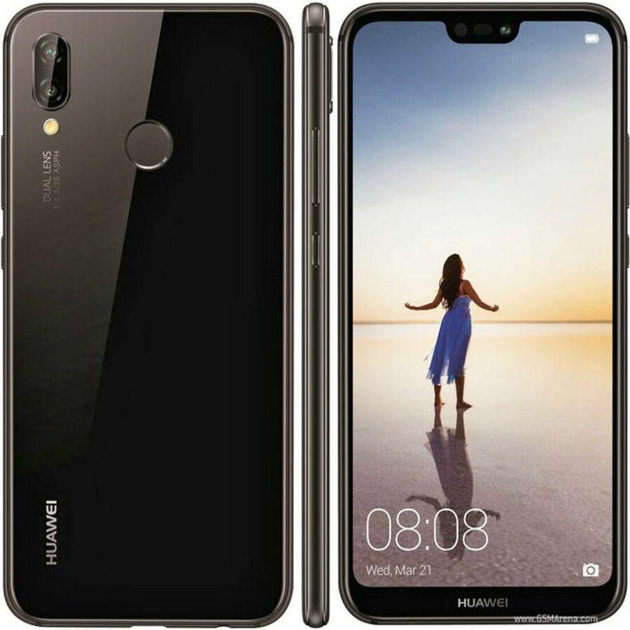 Smartphone Huawei P20 lite 4GB Ram Tela 5.84 32GB Camera dupla 16+2MP - Preto