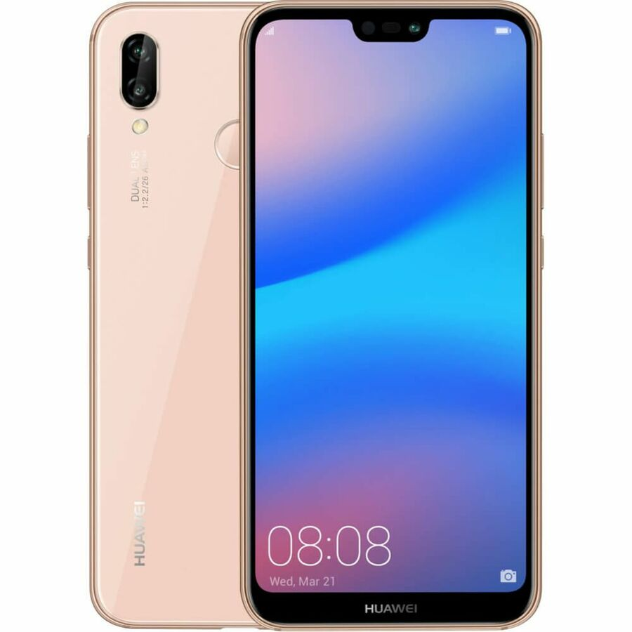 Smartphone Huawei P20 lite 4GB Ram Tela 5.84 32GB Camera dupla 16+2MP - Rosa