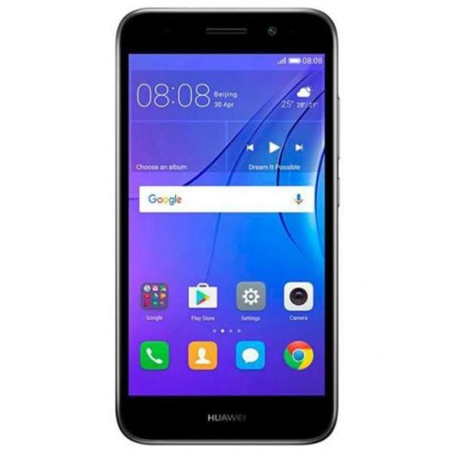 Smartphone Huawei Y5 Lite 2017 1GB Ram Tela 5.0 8GB Camera 8MP - Grafite  - PAGDEPOIS