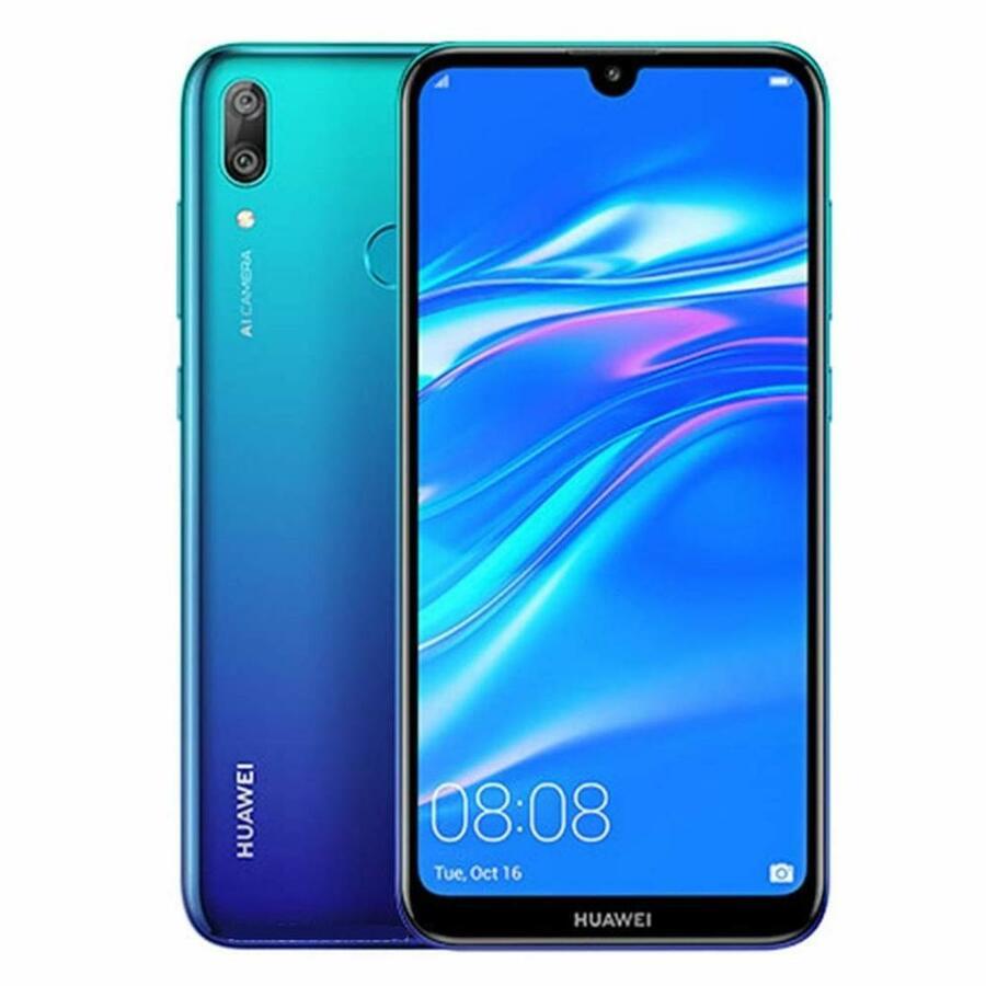 Smartphone Huawei Y6 2019 2GB Ram Tela 6.09 32GB Camera 13MP - Azul