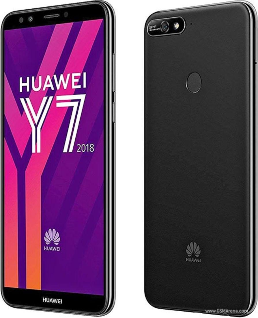 Smartphone Huawei Y7 2018 2GB Ram Tela 5.99 16GB Camera 13MP - Preto