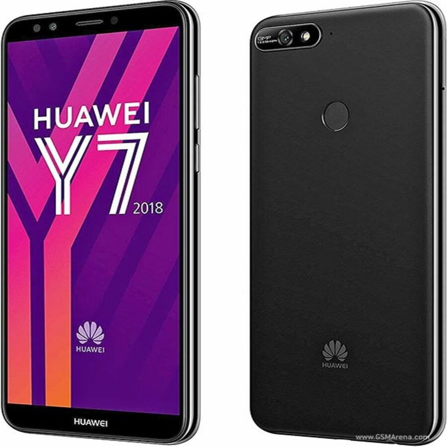 Smartphone Huawei Y7 2018 2GB Ram Tela 5.99 16GB Camera 13MP - Preto
