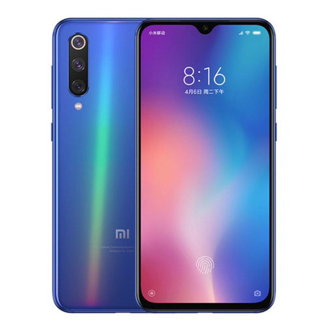 Smartphone Xiaomi Mi 9 6GB Ram Tela 6.39 64GB Camera Tripla 48+16+12MP - Azul