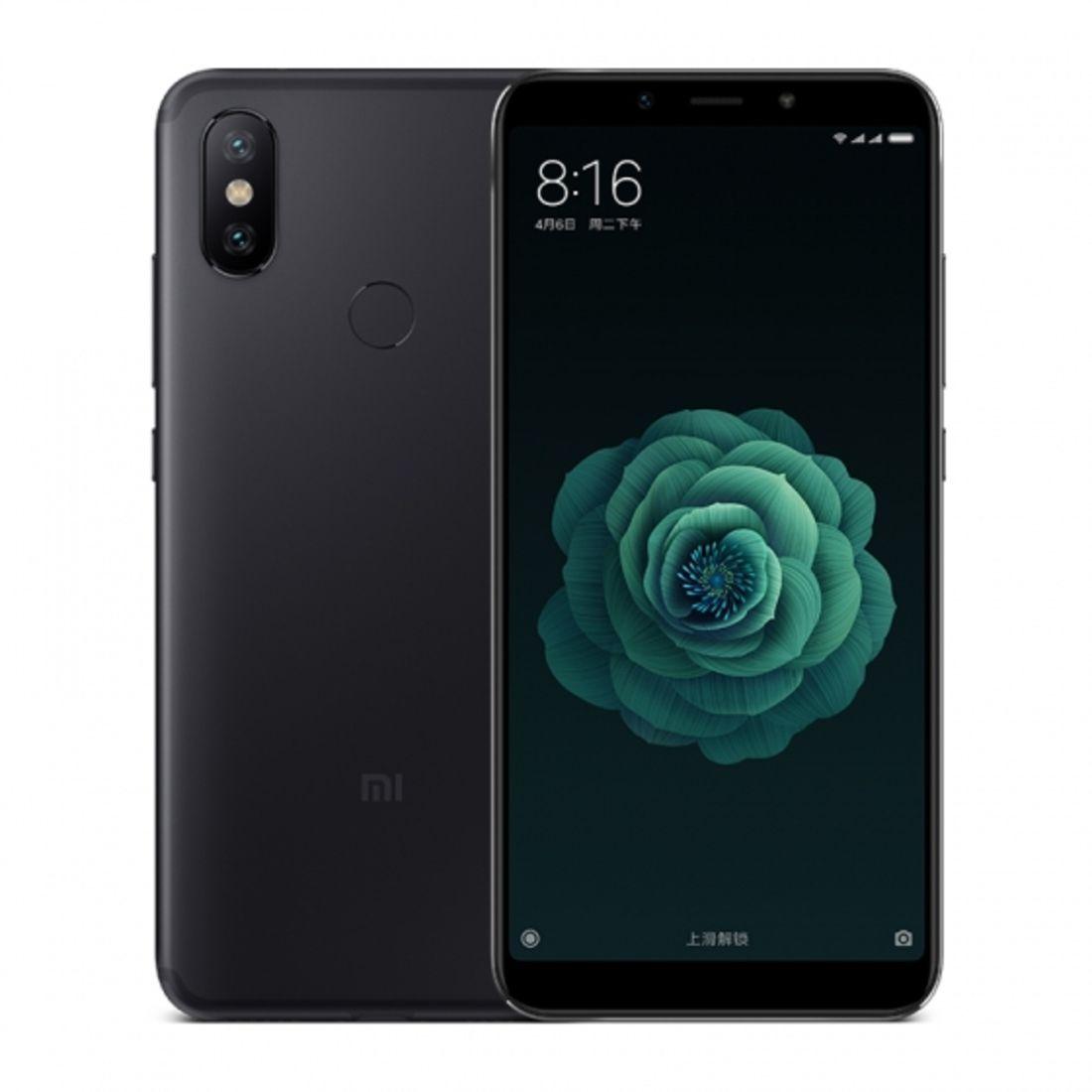 Smartphone Mi A2 4GB Ram Tela 5.99 32GB Camera Dupla 12+20MP - Preto