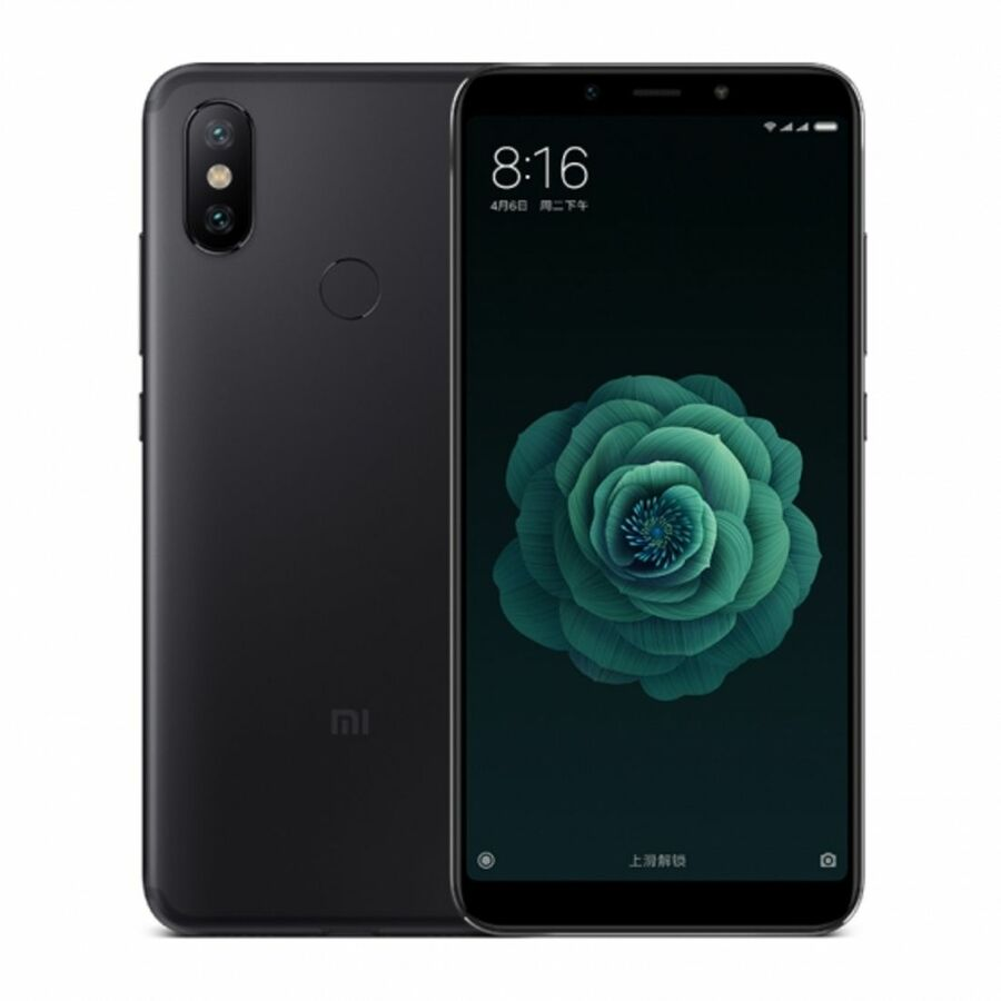 Smartphone Xiaomi Mi A2 4GB Ram Tela 5.99 32GB Camera Dupla 12+20MP - Preto
