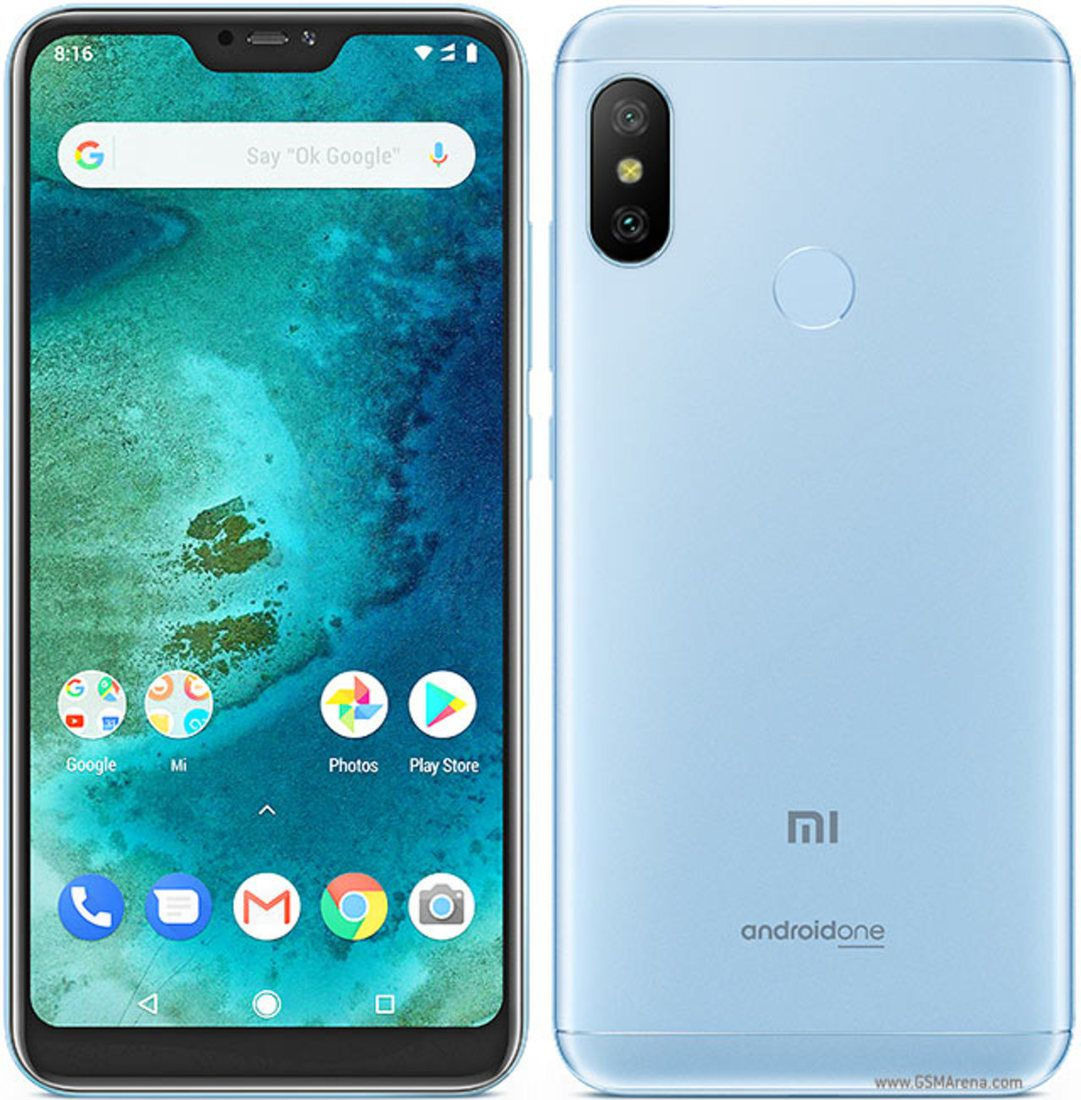 Smartphone Mi A2 Lite 4GB Ram Tela 5.84 64GB Camera Dupla 12+5MP - Azul