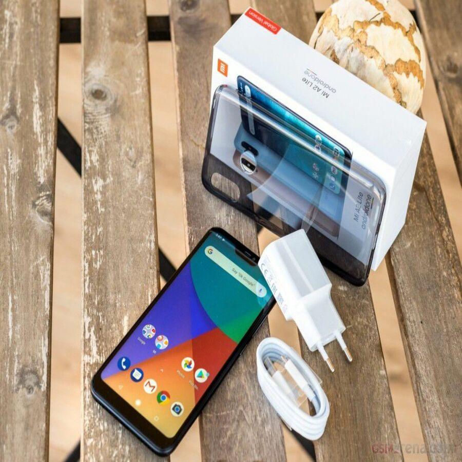 Smartphone Xiaomi Mi A2 Lite 4GB Ram Tela 5.84 64GB Camera Dupla 12+5MP - Preto  - PAGDEPOIS