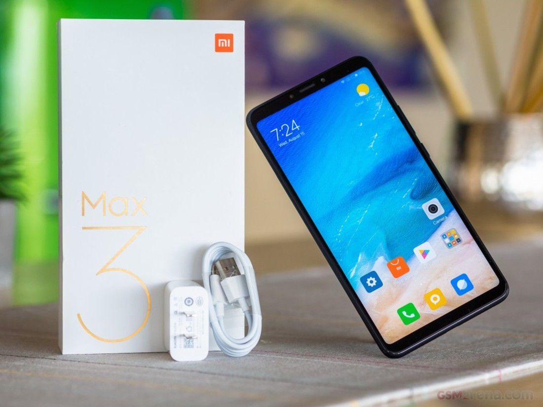 Smartphone Mi Max 3 4GB Ram Tela 6.9 64GB Camera Dupla 12+5MP - Preto  - PAGDEPOIS