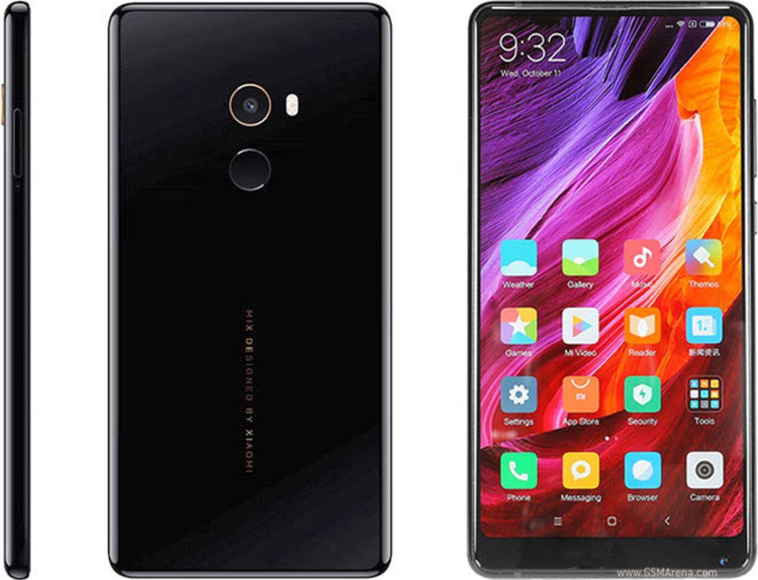 Smartphone Mi Mix 2 6GB Ram Tela 5.99 64GB Camera 12MP - Preto
