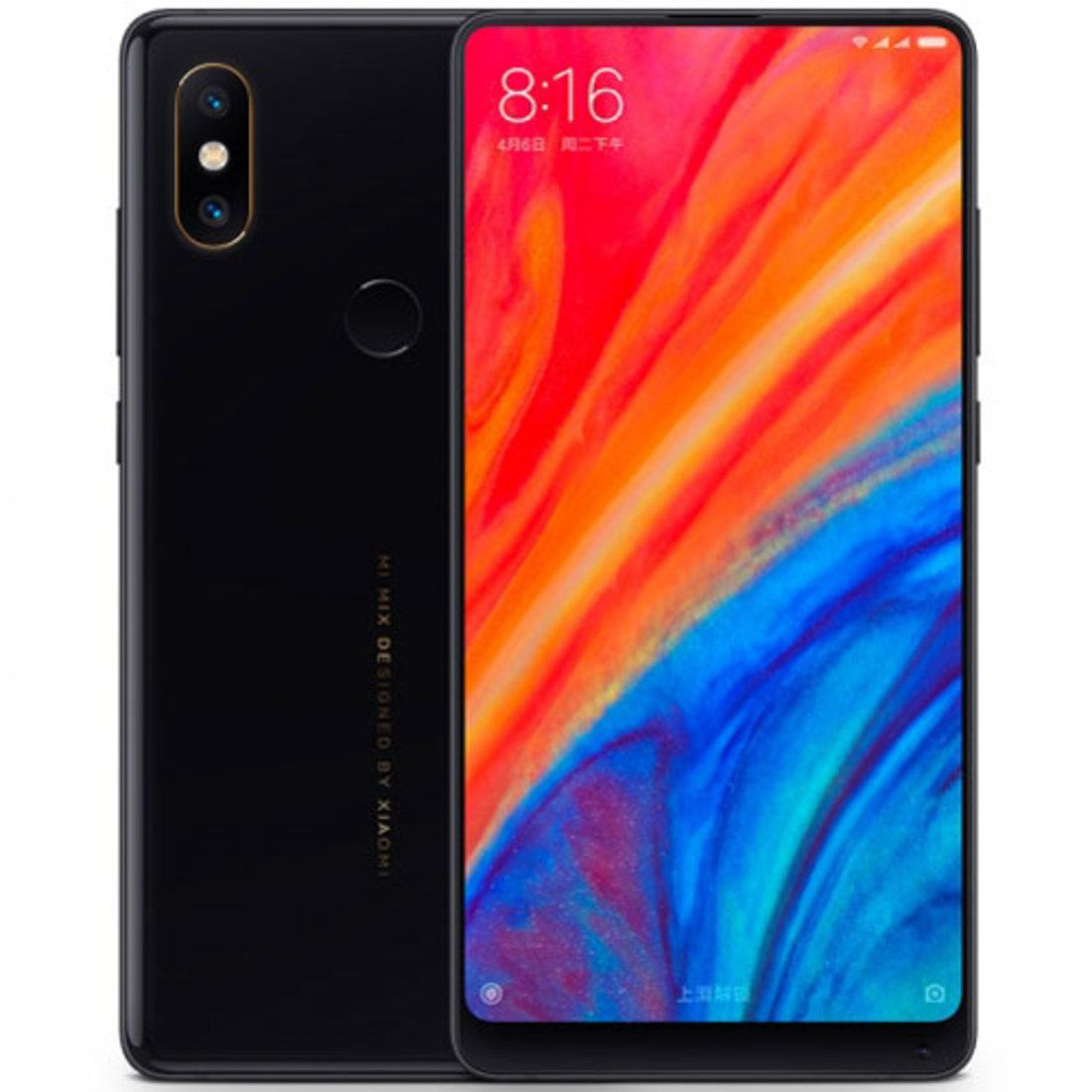 Smartphone Mi Mix 2s 6GB Ram Tela 5.99 64GB Camera Dupla 12+12MP - Preto