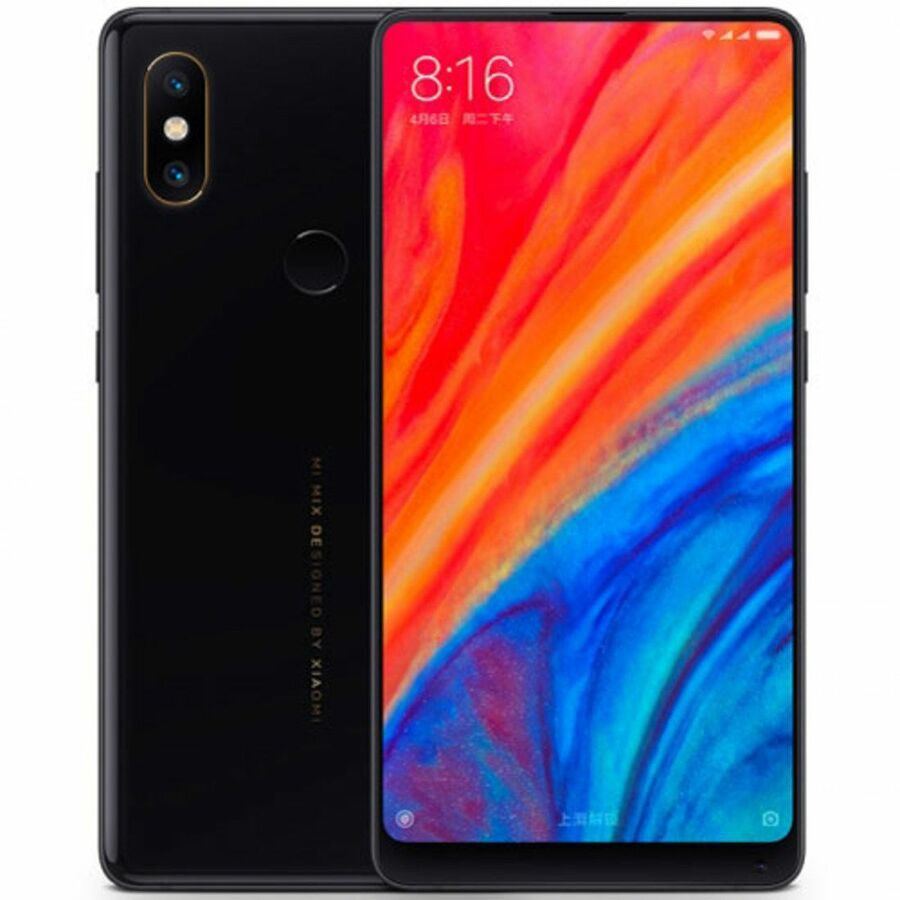 Smartphone Xiaomi Mi Mix 2s 6GB Ram Tela 5.99 64GB Camera Dupla 12+12MP - Preto