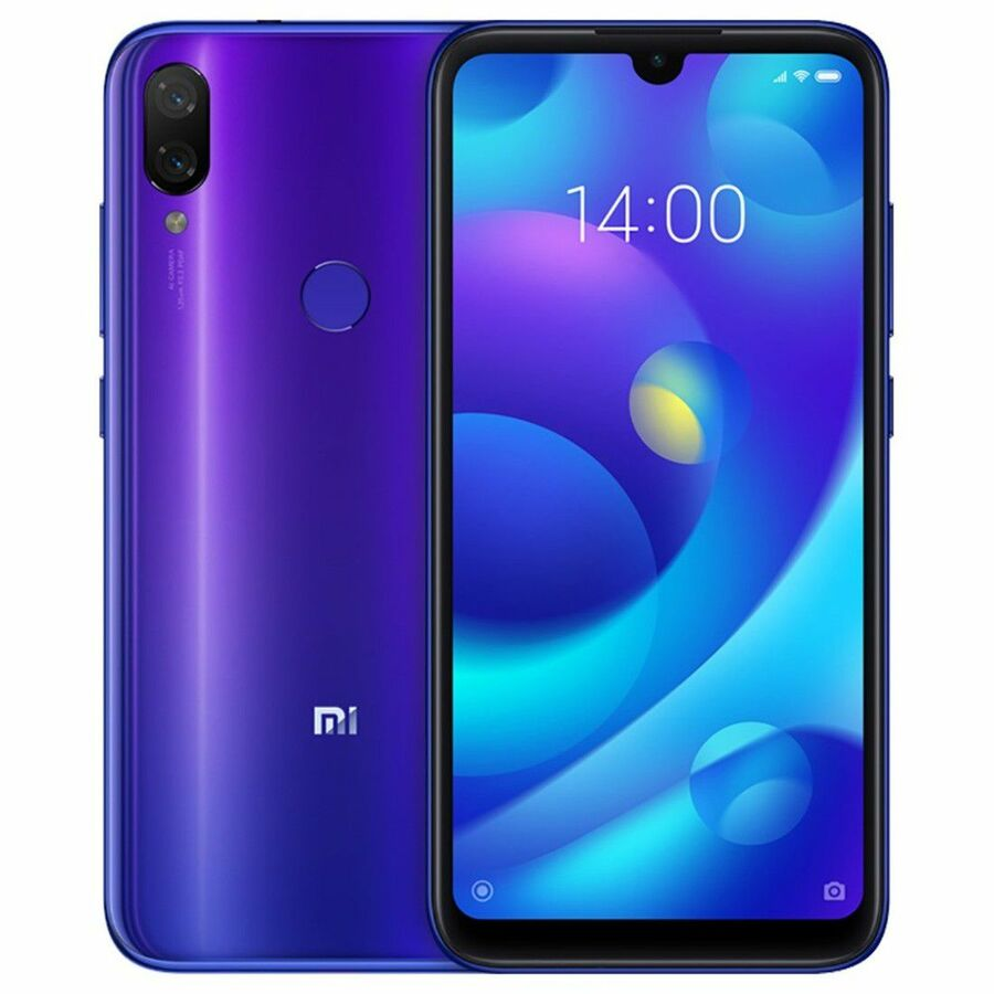 Smartphone Xiaomi Mi Play 4GB Ram Tela 5.84 64GB Camera Dupla 12+12MP - Azul  - PAGDEPOIS