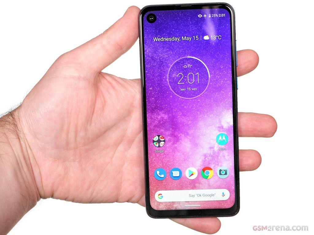 Smartphone Motorola One Vision 4GB Ram Tela 6.3 128GB Camera Dupla 48+5MP - Azul Safira  - PAGDEPOIS