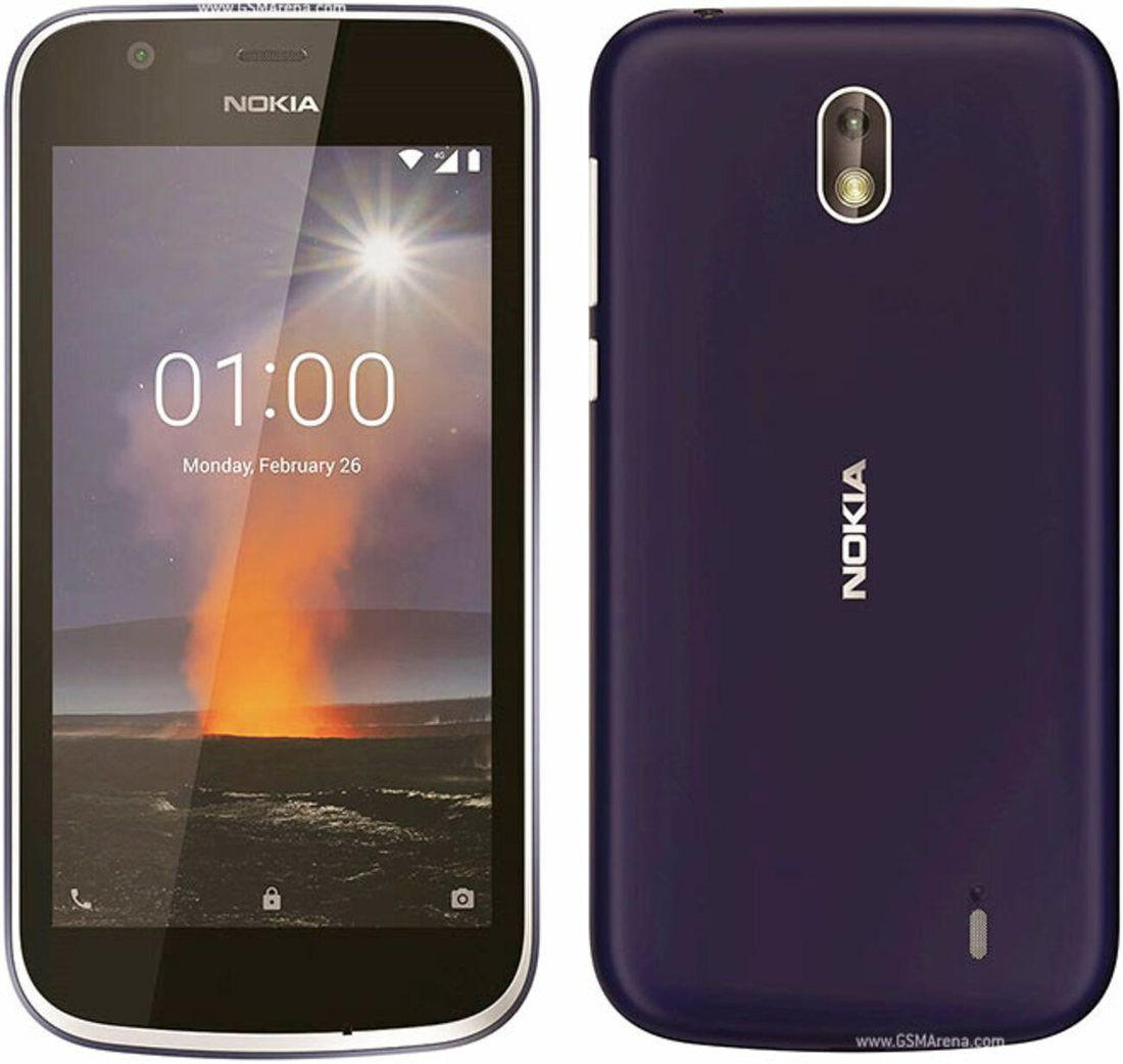 Smartphone Nokia 1 1GB Ram Tela 4.5 8GB Camera 5MP - Azul  - PAGDEPOIS