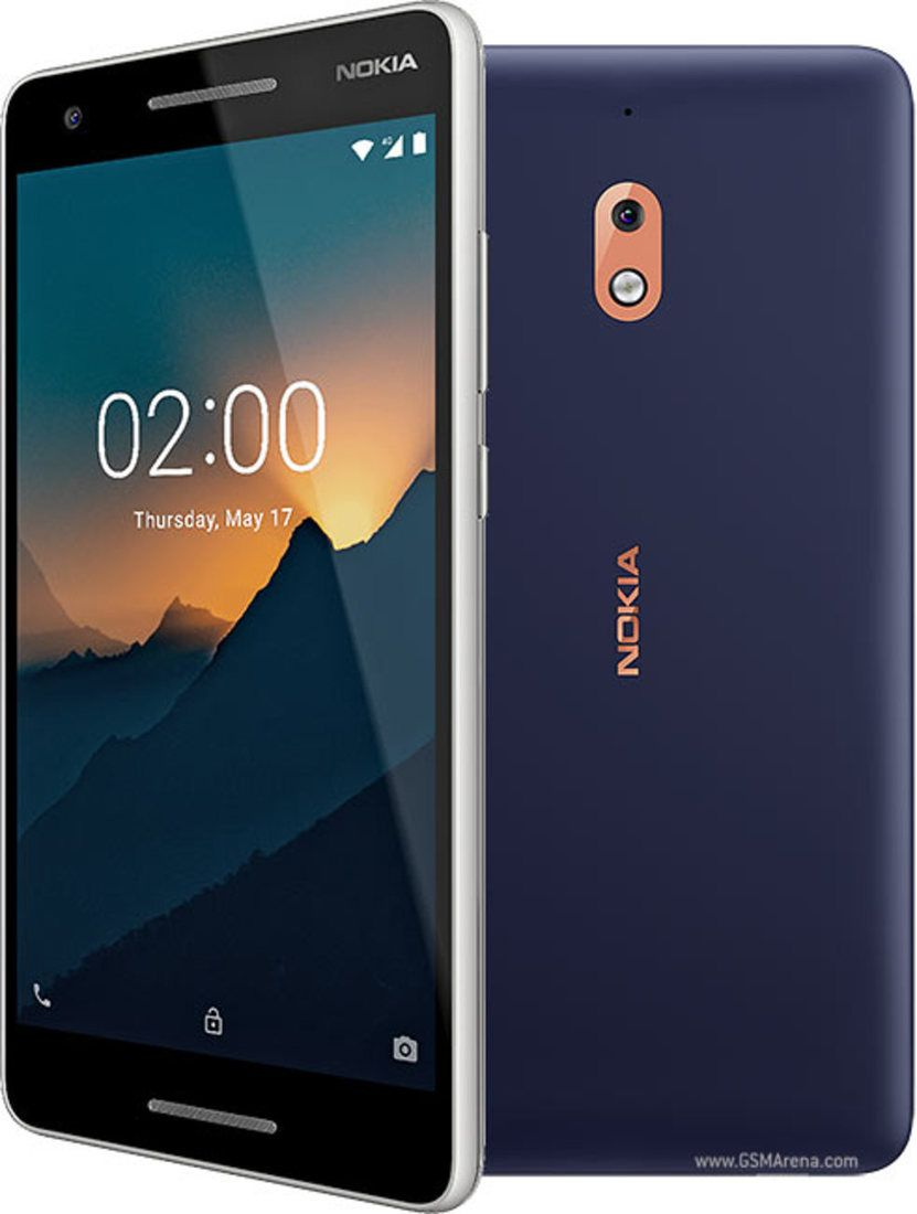 Smartphone Nokia 2.1 1GB Ram Tela 5.5 8GB Camera 8MP - Azul  - PAGDEPOIS