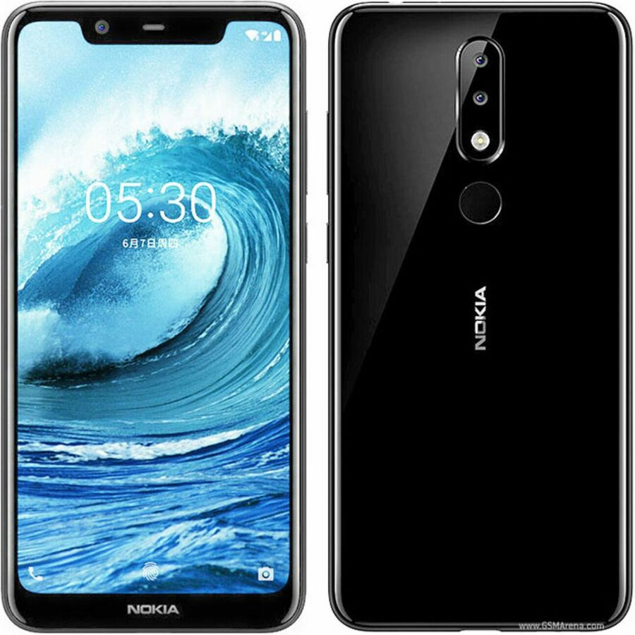 Smartphone Nokia 5.1 Plus 3GB Ram Tela 5.86 32GB Camera Dupla 13+5MP - Preto  - PAGDEPOIS