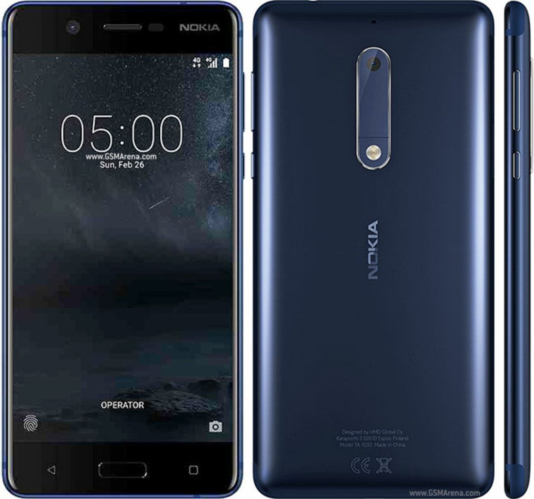 Smartphone Nokia 5 2GB Ram Tela 5.2 16GB Camera 13MP - Azul  - PAGDEPOIS