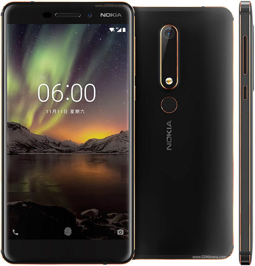 Smartphone Nokia 6.1 3GB Ram Tela 5.5 32GB Camera 16MP - Preto