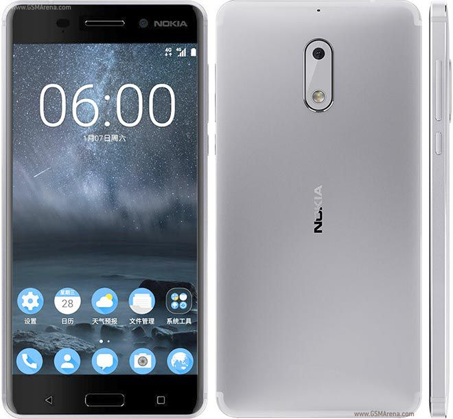 Smartphone Nokia 6 3GB Ram Tela 5.5 32GB Camera 16MP - Prata