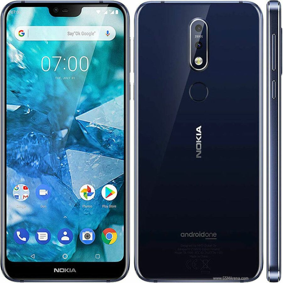 Smartphone Nokia 7.1 4GB Ram Tela 5.84 64GB Camera Dupla 12+5MP - Azul