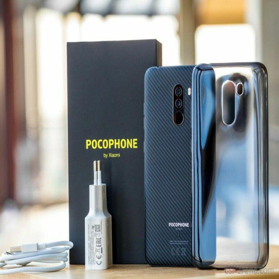 Smartphone Pocophone F1 6GB Ram Tela 6.18 128GB Camera Dupla 12+5MP - Preto  - PAGDEPOIS