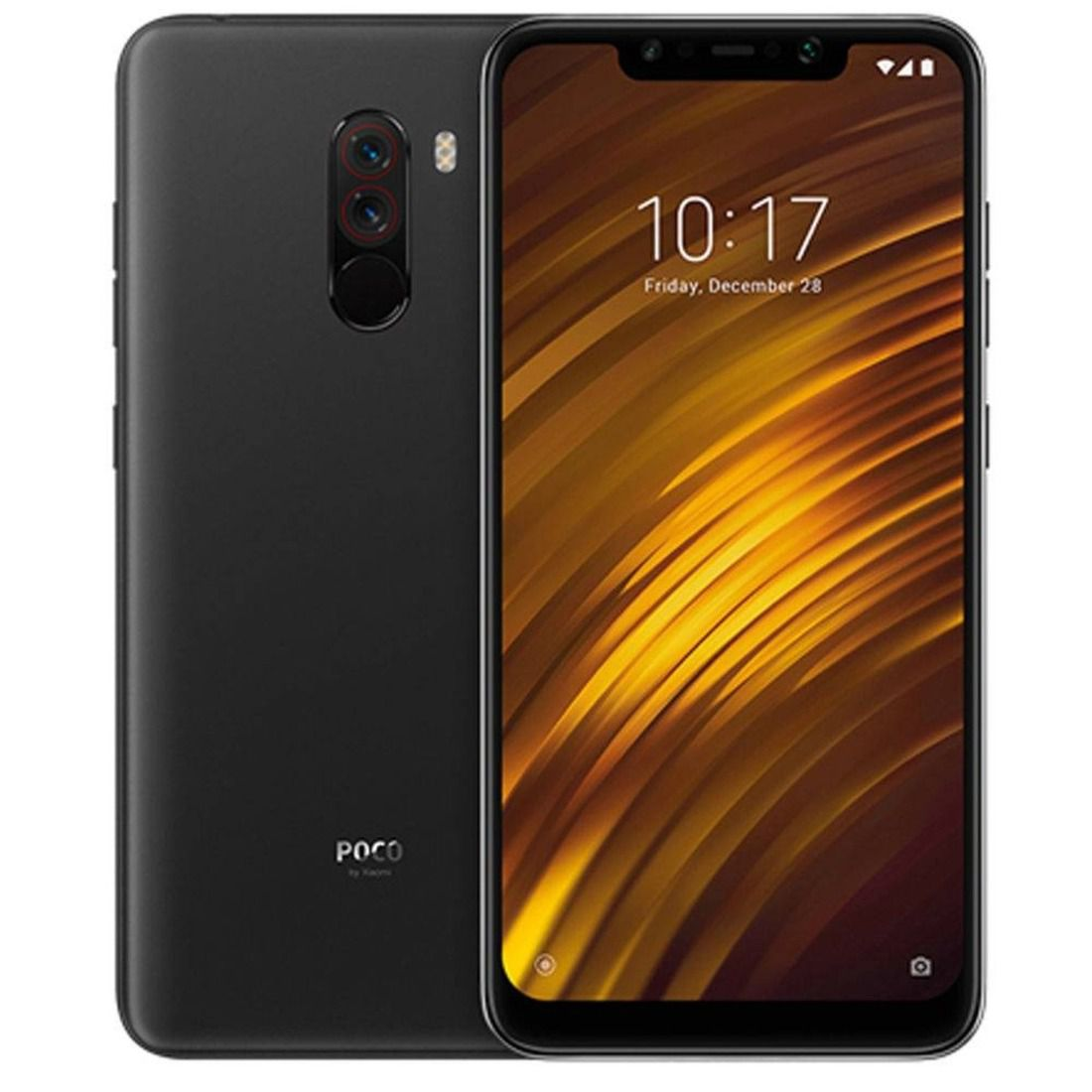 Smartphone Pocophone F1 6GB Ram Tela 6.18 64GB Camera Dupla 12+5MP - Preto