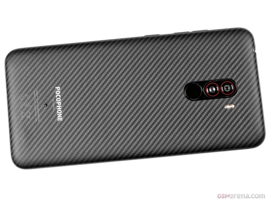 Smartphone Xiaomi Poco F1 6GB Ram Tela 6.18 64GB Camera Dupla 12+5MP - Preto  - PAGDEPOIS