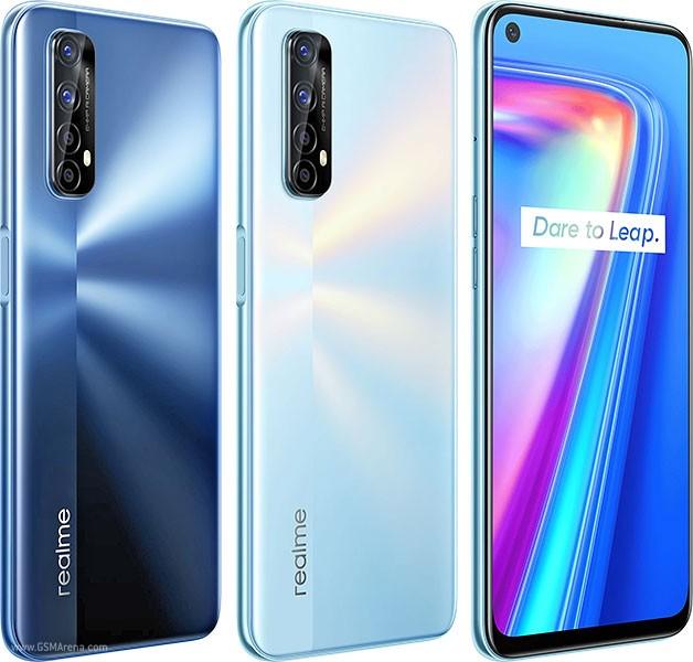 Smartphone Realme 7 8GB Ram Tela 6.50 128GB Camera Quádrupla 48+8+2+2MP - Branco