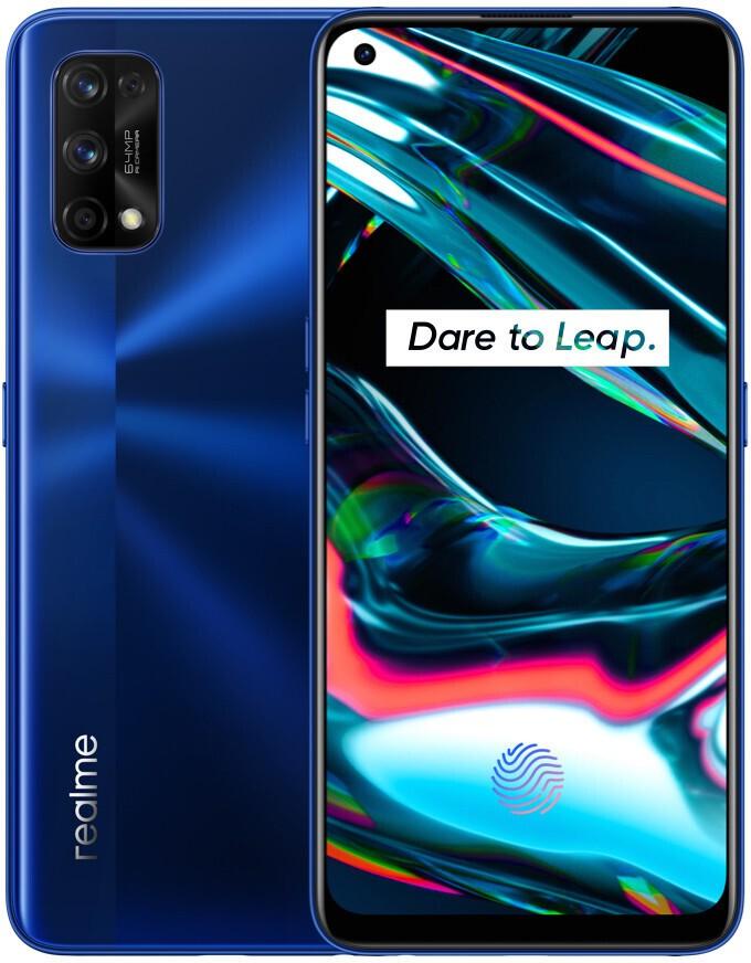 Smartphone Realme 7 Pro 8GB Ram Tela 6.40 128GB Camera Quádrupla 64+8+2+2MP - Azul