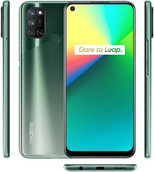 Smartphone Realme 7i 8GB Ram Tela 6.50 128GB Camera Quádrupla 64+8+2+2MP - Verde