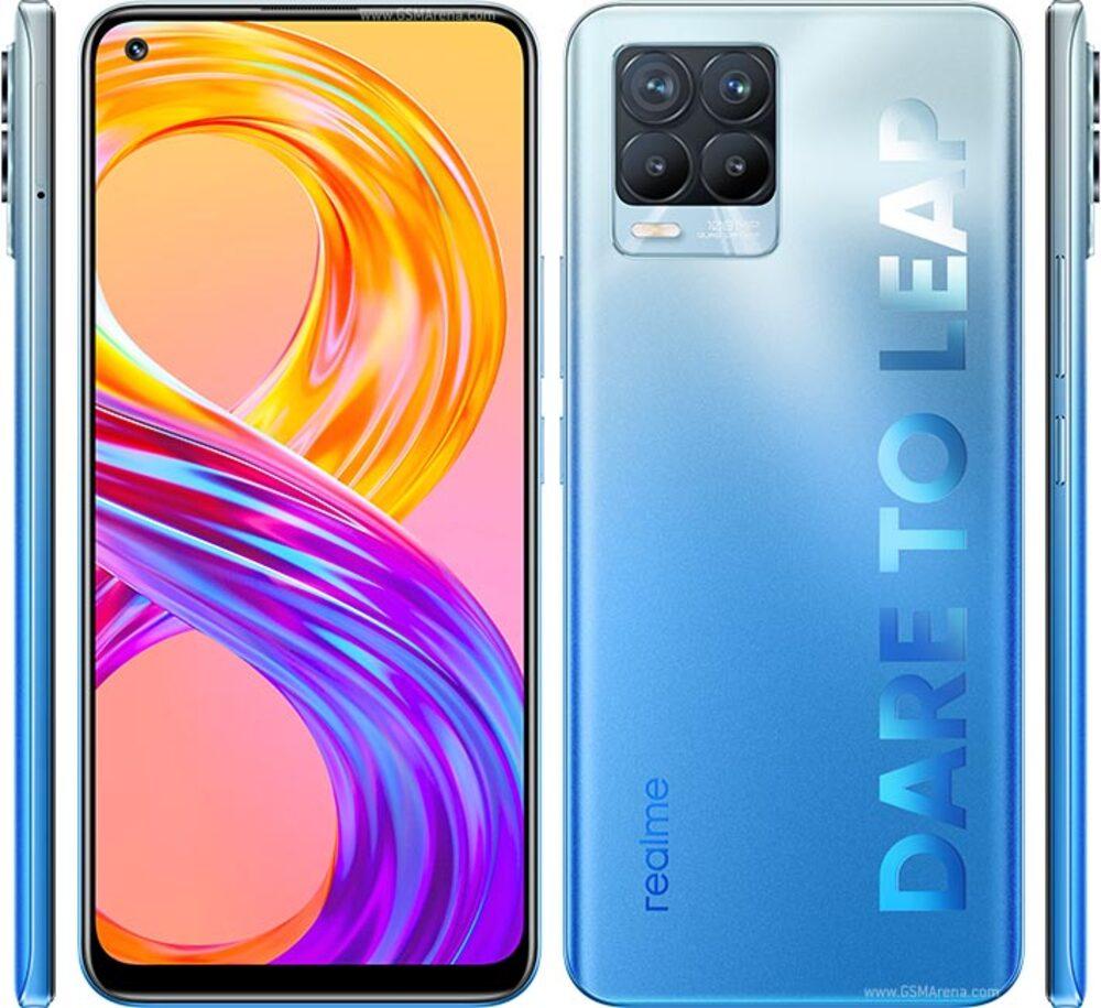 Smartphone Realme 8 Pro 8GB Ram Tela 6.4 128GB Camera Quádrupla 108+8+2+2MP - Azul
